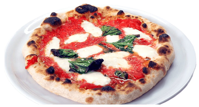 Neapolitan Homemade Pizza - margherita pizza