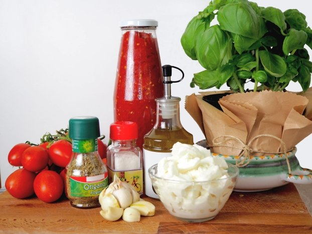 MArgherita pizza toppings